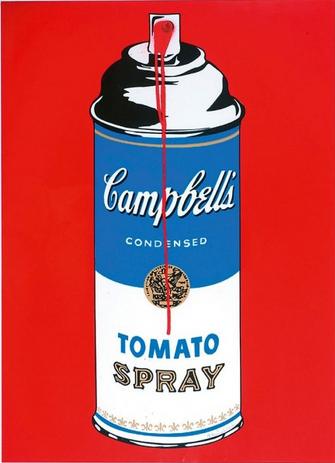 Mr. Brainwash-Tomato Spray-