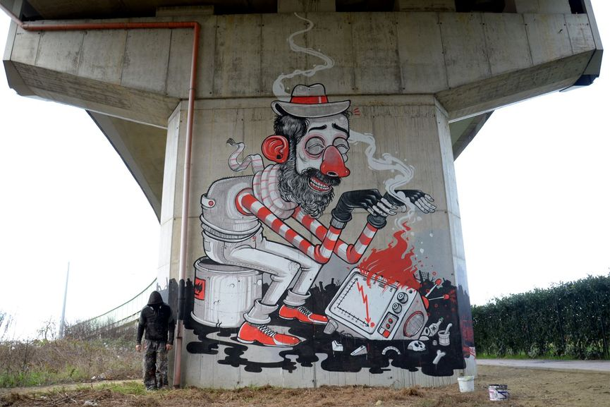 Mr. THOMS Mural