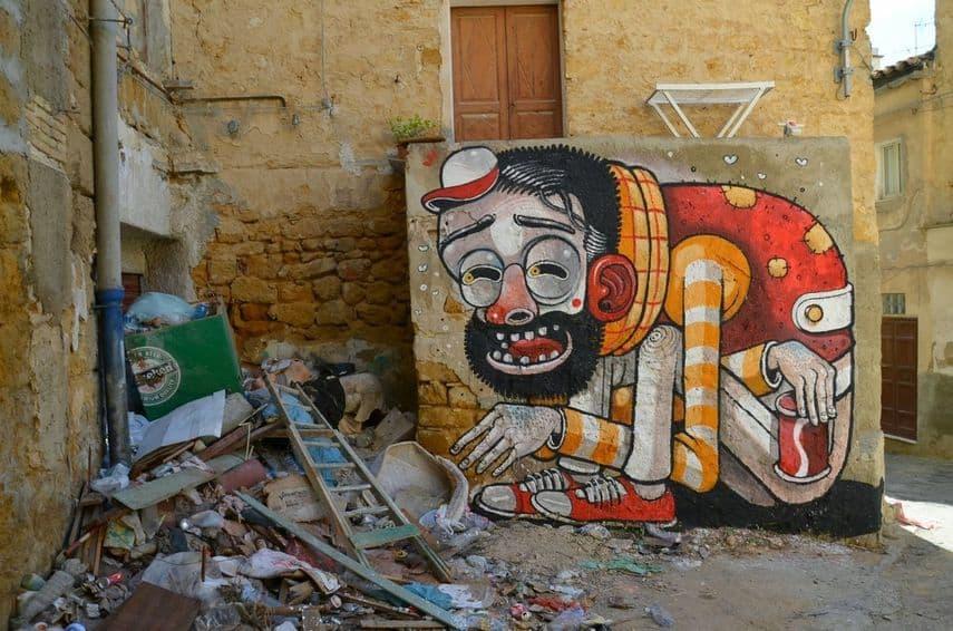 Mr.THOMS - Only Trash Save, Agrigento, 2011