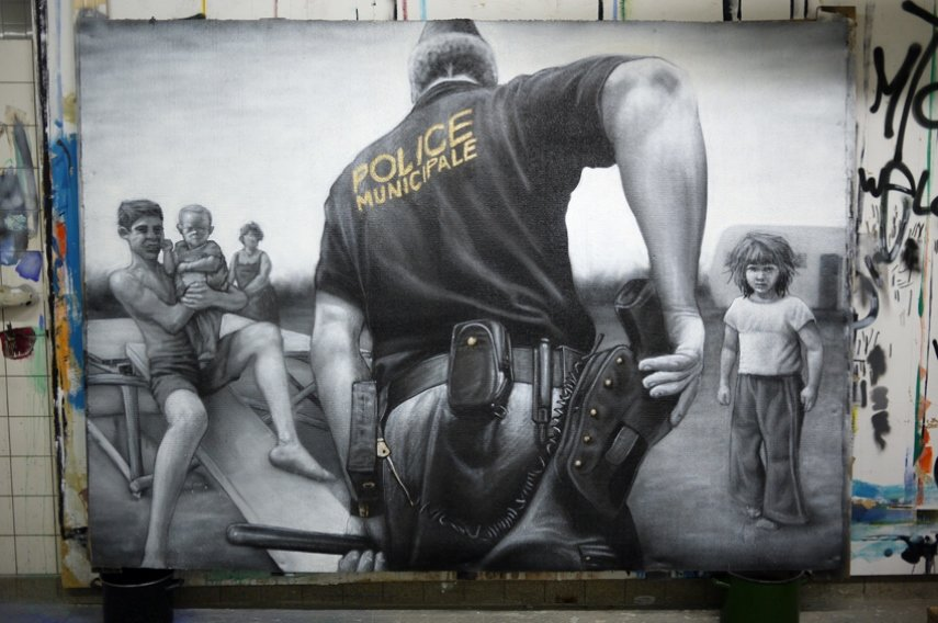 Instagram, street art, arrest
