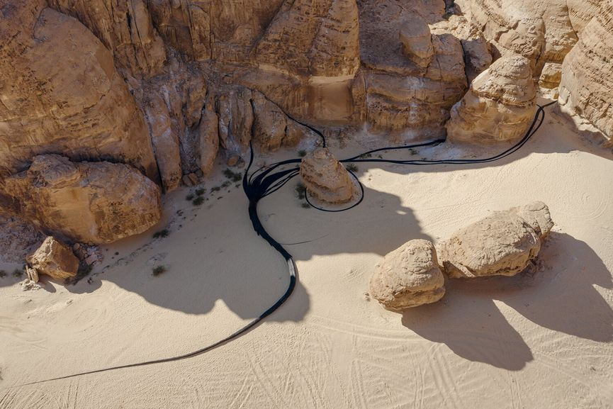 Muhannad Shono - The Lost Path, Desert X AlUla
