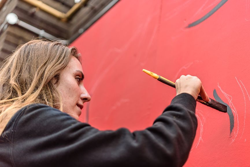 Mural programme, Moniker London 2015