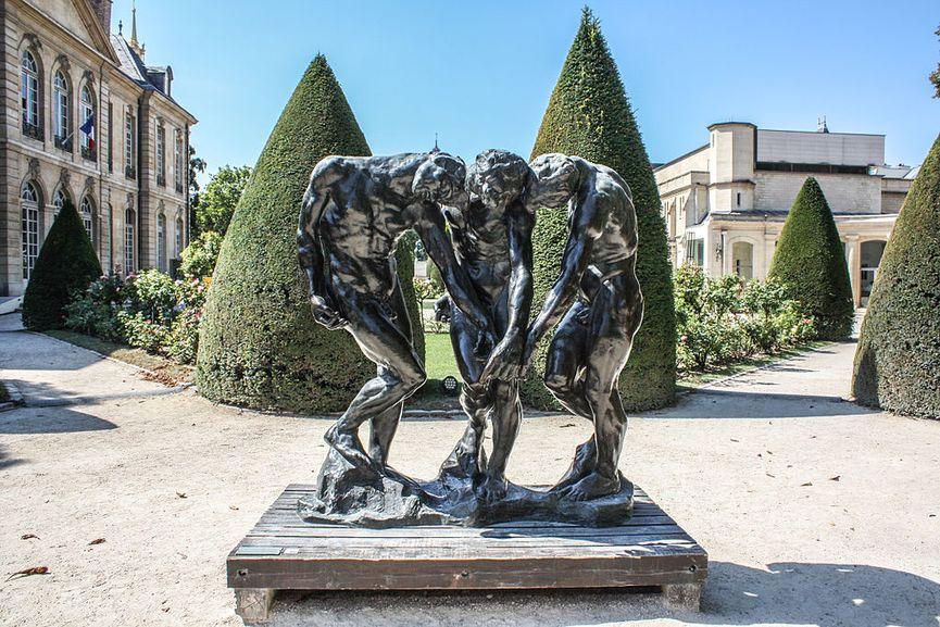 Musée Rodin Garden, The Three Shades by Auguste Rodin