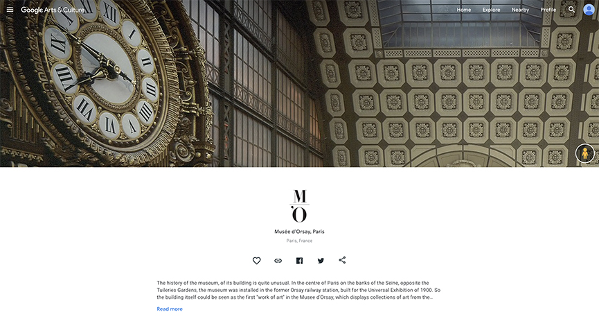 Explore Musee d'Orsay Google Arts & Culture