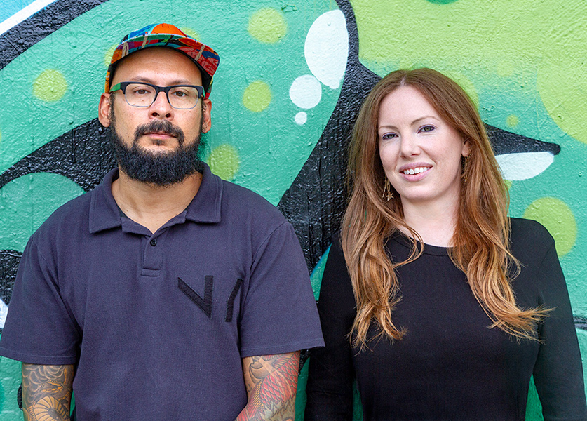 Museum of Graffiti Founders Alan Ket and Allison Freidin