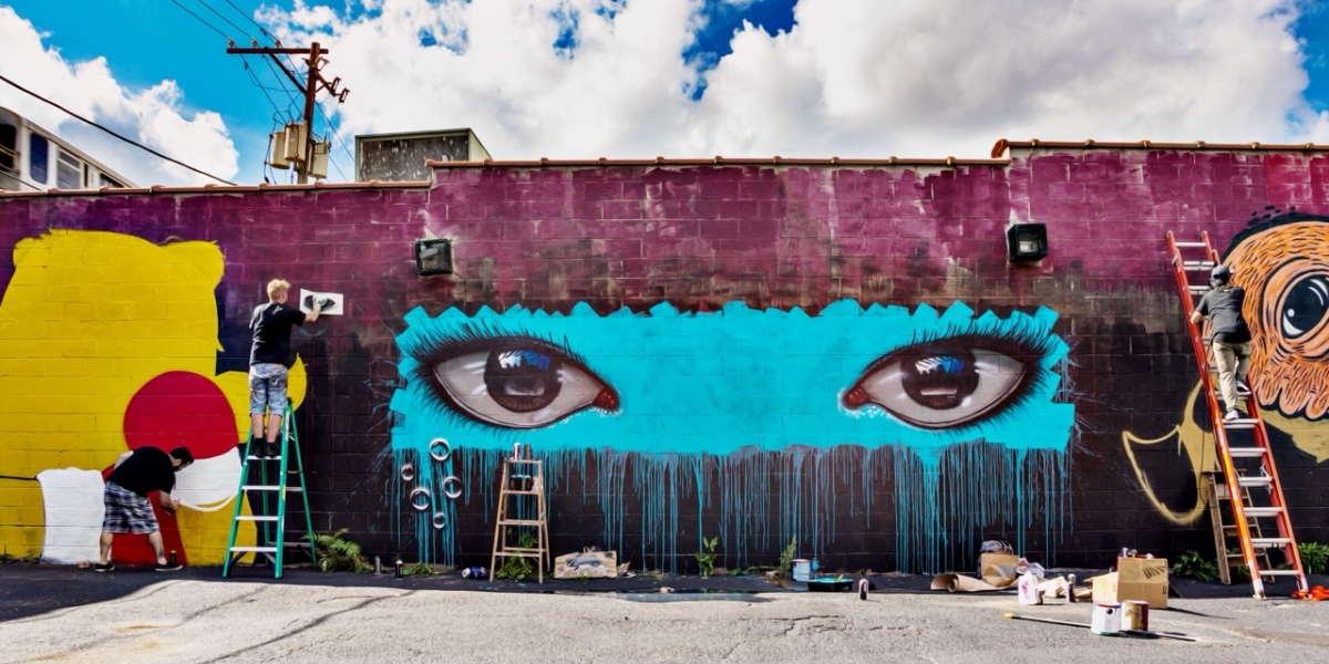 History of Street Art in the UK media