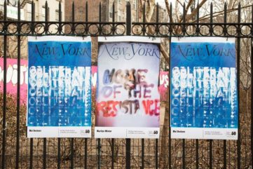 50 Artists Design New York Magazine Covers for a Public Art Show
