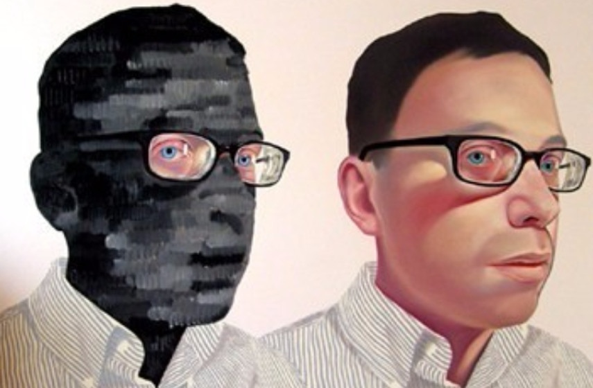 Myung Hwang - Invisible Men Mask White, 2008