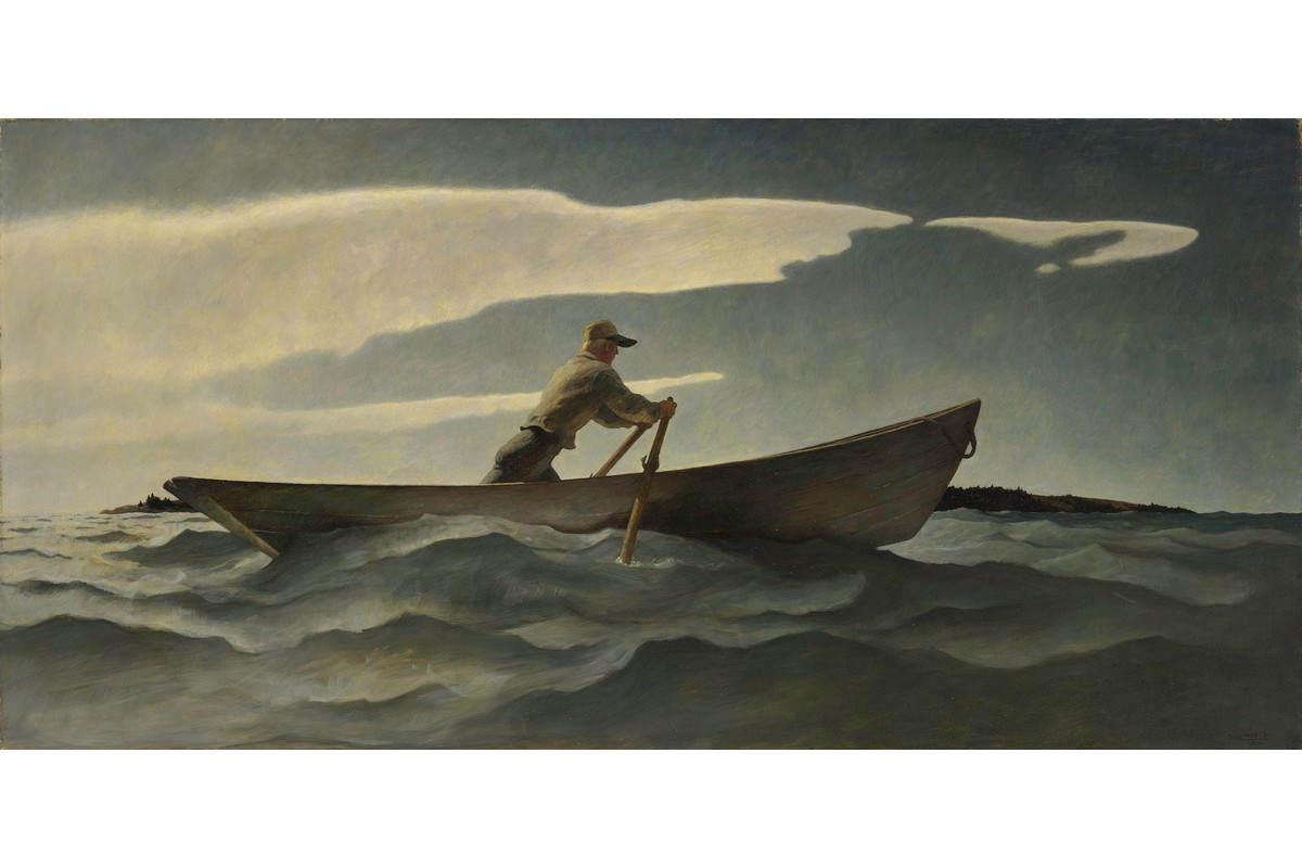 N C Wyeth - In Penobscot Bay