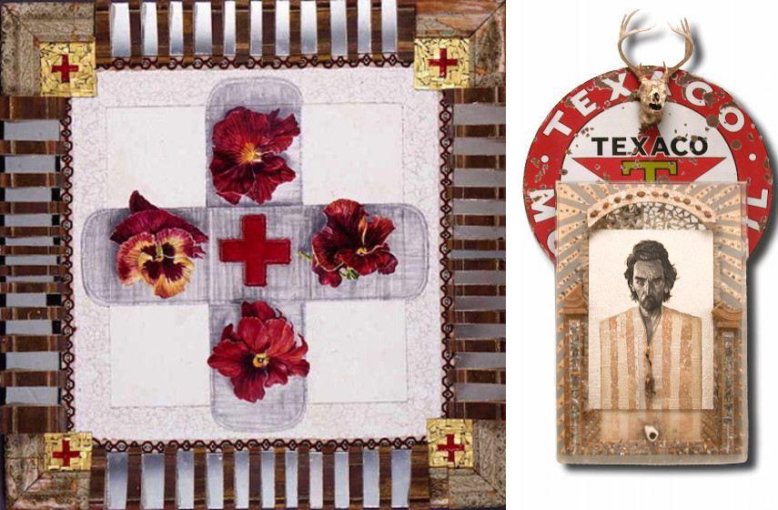 NALL - Red Cross, 2000 (Left) / Tex Mex, 2006 (Right)