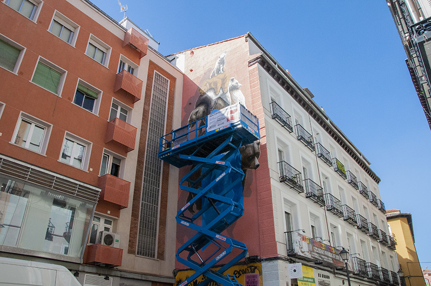 NEVERCREW Mural Urvanity Art Madrid 2020