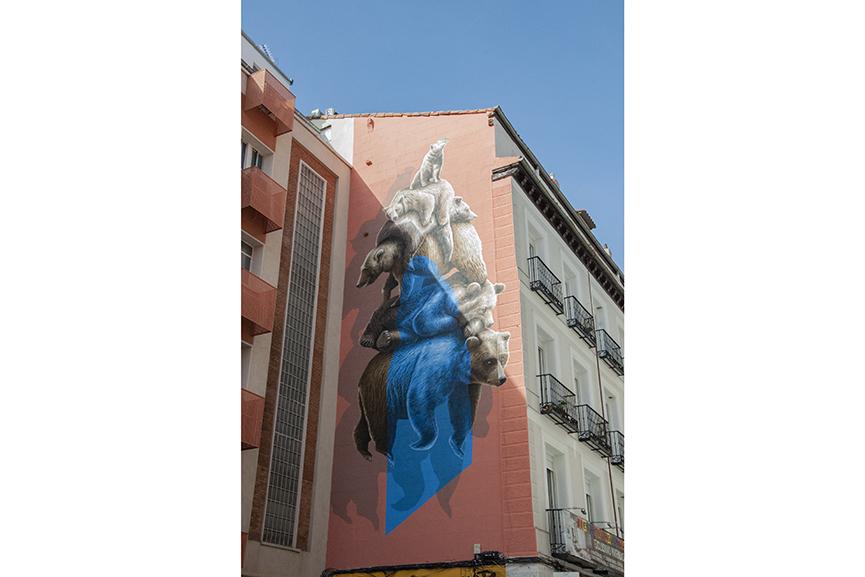 NEVERCREW Mural Urvanity Art Madrid 2020
