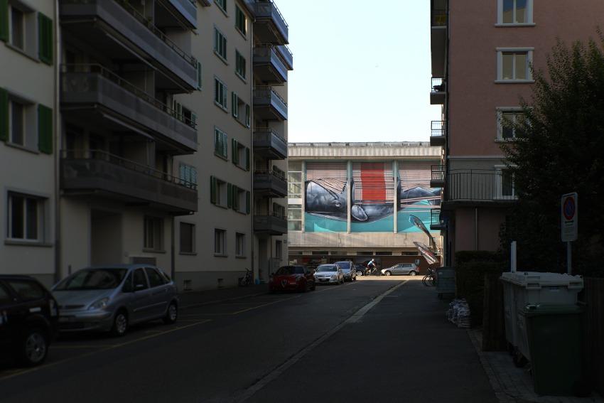 nevercrew mural in luzern