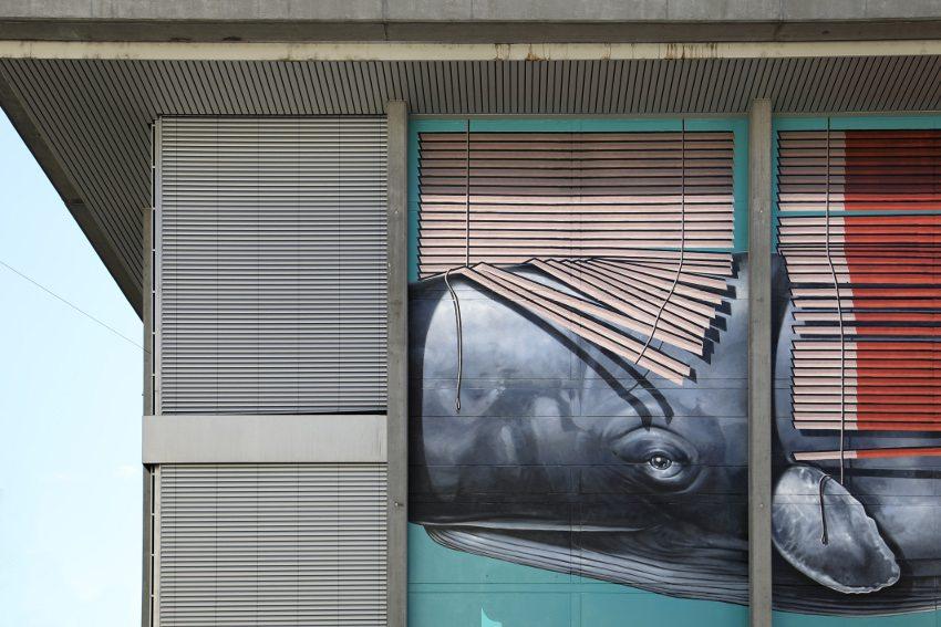 new mural in Switzerland
