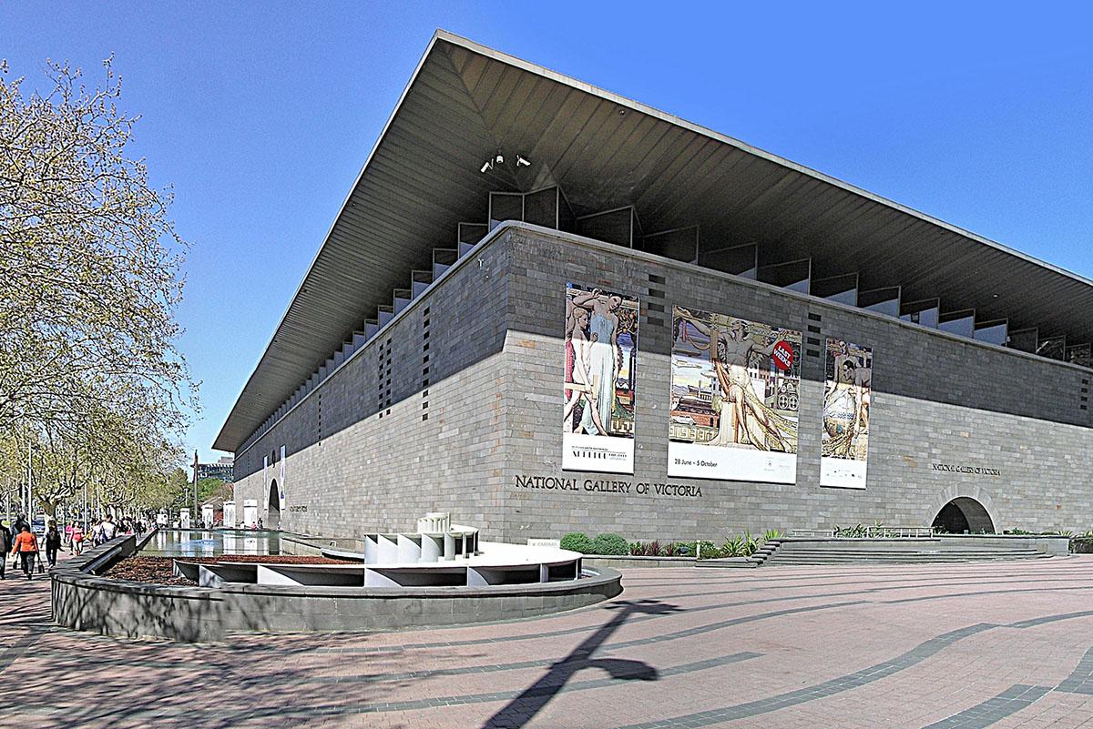 NGV Melbourne, via Wikimedia