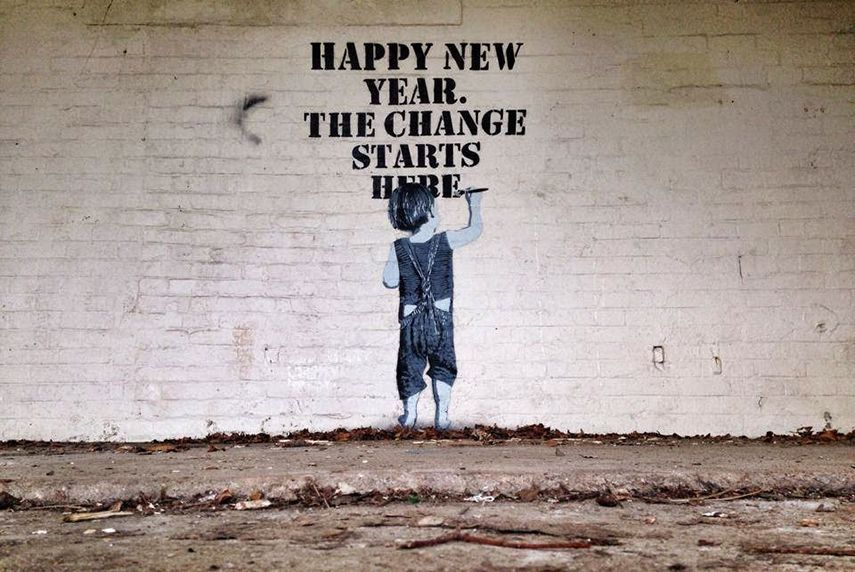 NME - Happy New Year. The Change Starts Here