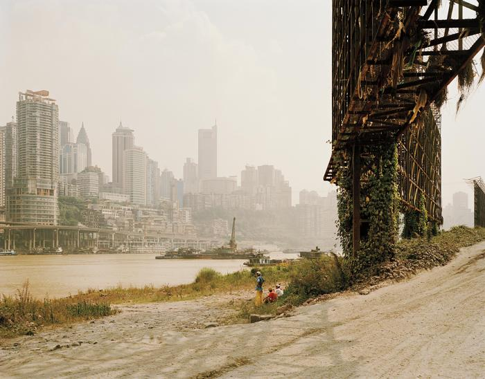 Nadav Kander-Chongqing II, Chongqing Municipality from Yangtze, The Long River-2006