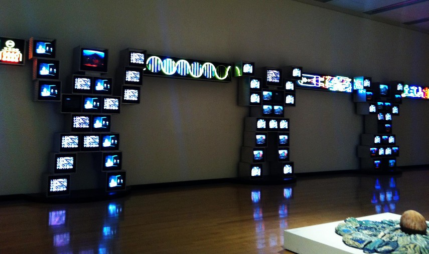 a biography of nam june paik Nam june paik was active/lived in new york, florida / south korea nam paik is known for video artist, installation sculpture.