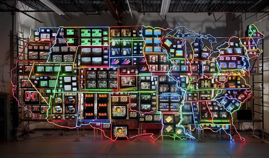 Video art collection can be found in the archive and exhibitions of the Smithsonian gallery