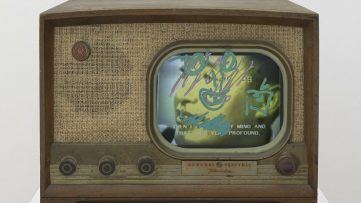 Nam June Paik - Self-Portrait, 2005