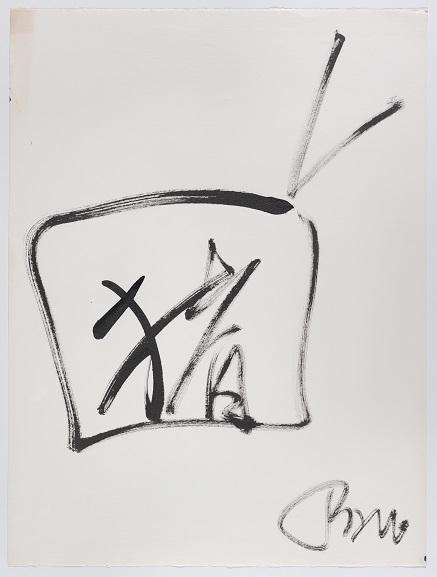 Nam June Paik, Untitled (TV Character), 1978