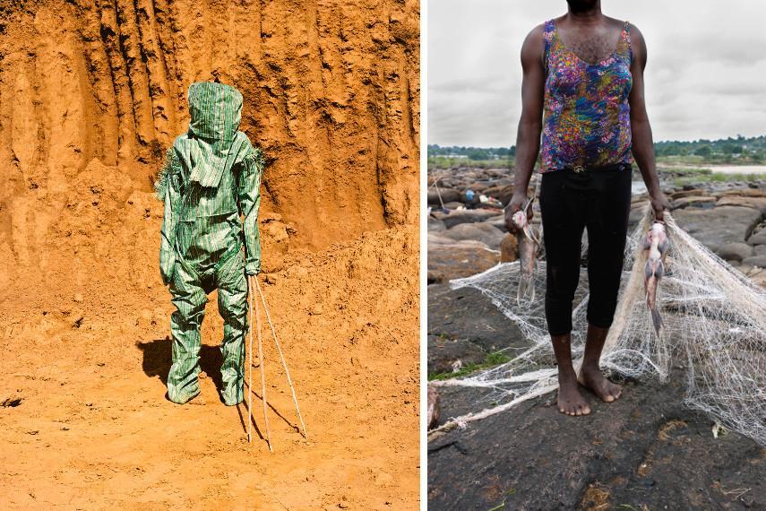 Namsa Leuba - Statuette Kafigeledio Prince - Guinea, Ya Kala Ben, 2011 - Nyaba Léon Ouedraogo - Le mystère de linvisible, Les phantoms du fleuvre Congo, 2011-2013