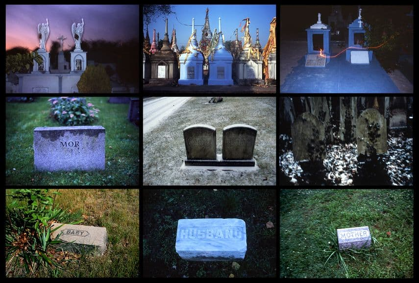 Nan Goldin - Family Plot, 2018. Inkjet Print © Nan Goldin 2018