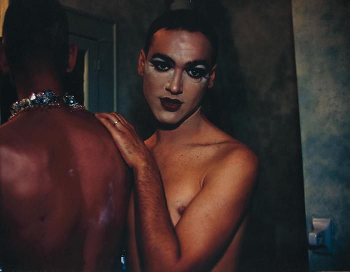 Nan Goldin-Jimmy Paulette and Tabboo! in the bathroom, NYC-1991