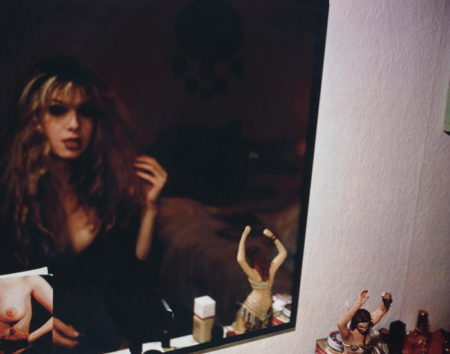 Nan Goldin-Joey in front of my mirror, Berlin-1992