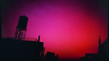 Nan Goldin - Red Sky From My Window