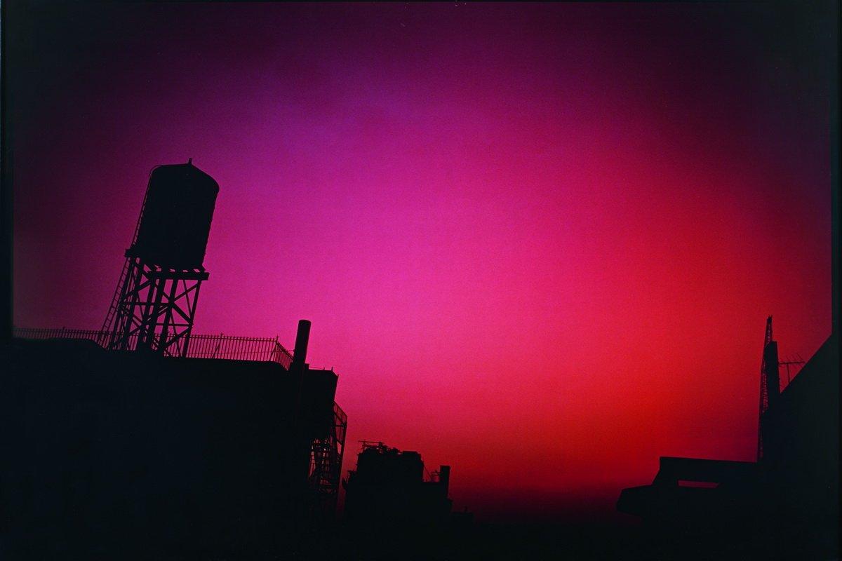 Nan Goldin - Red Sky From My Window