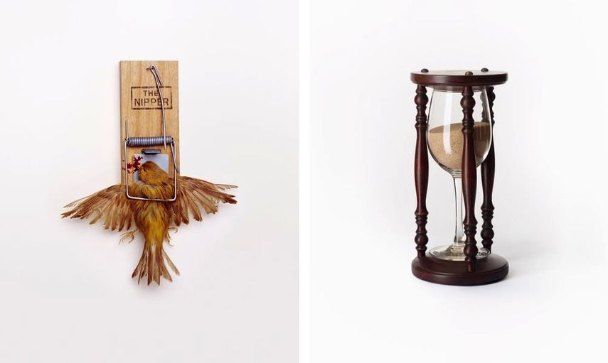 Nancy Fouts - Bird Trap Nancy Fouts - Wine Time