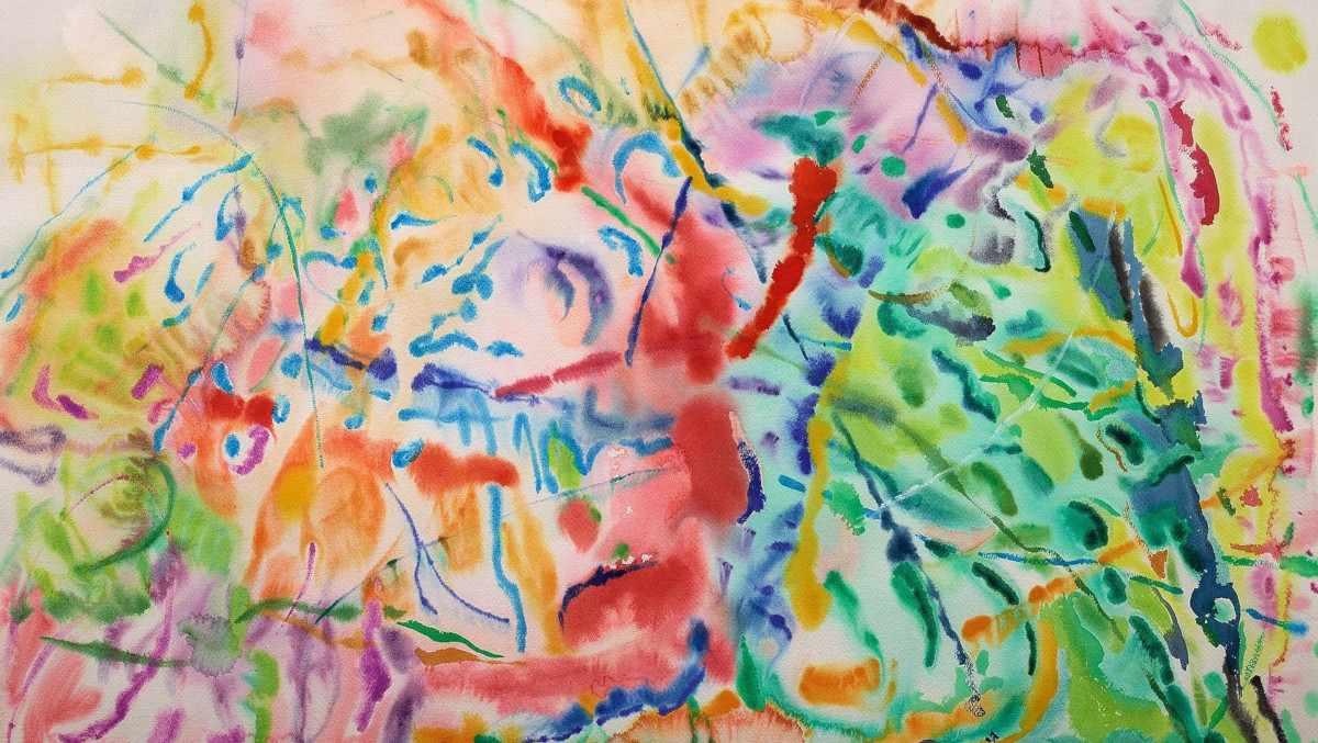 Nancy Graves - Untitled (5-16-78), 1978 (detail)