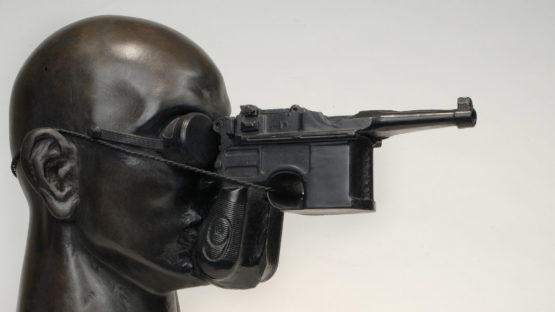 Nancy Grossman - Gunhead, 1991, photo credits nationalacademy.org