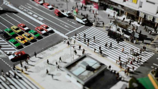 Naoki Honjo - Detail of Tokyo, Japan, 2005, photo via vassar.edu
