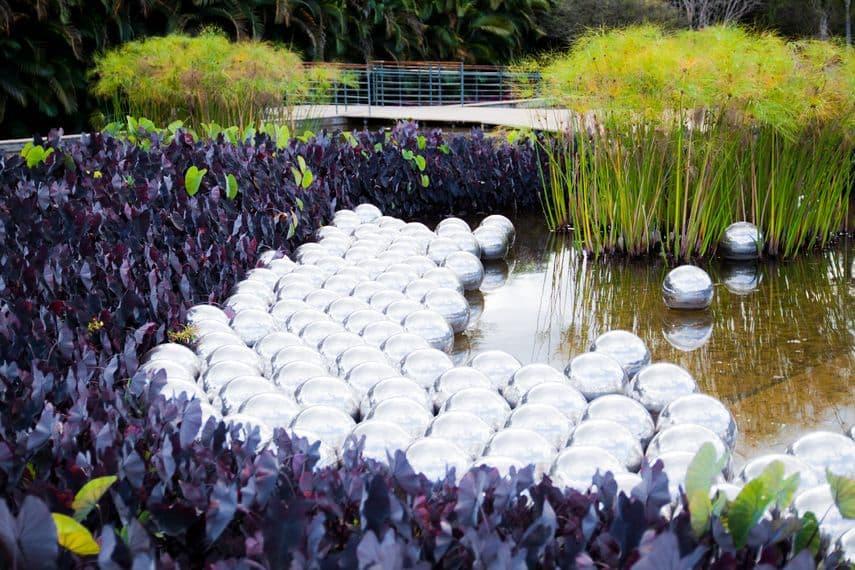 Narcissus Garden by Yayoi Kusama at Inhotim in Brumadinho, Brazil