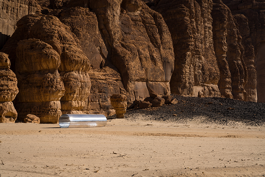 Nasser AlSalem - Amma Qabl, Desert X AlUla 2020 in Saudi Arabia
