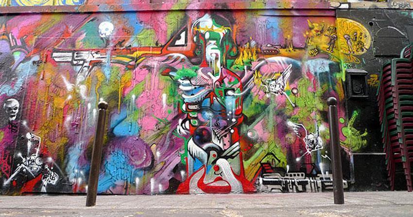 Nassyo - street art in Belleville
