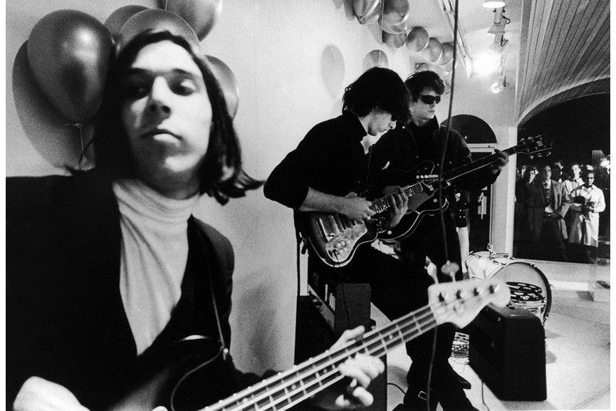 Nat Finkelstein - Velvet Underground at Paraphernalia Opening