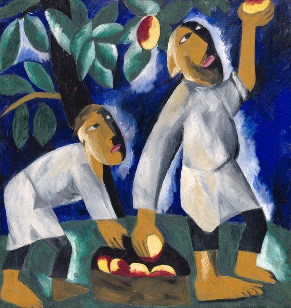 Peasants Picking Apples 1911