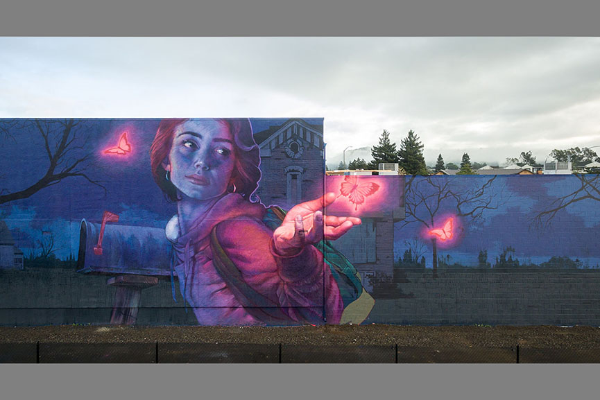 Natalia Rak and Bezt of Etam Cru in Napa, California