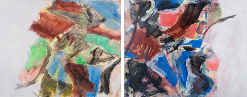 Natalie Edgar - Letter From Franz Kline, 2013 and Poe's Diary, 2013