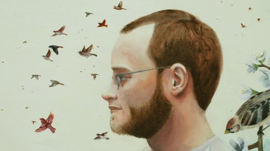Nate Burbeck - Self portrait (detail)