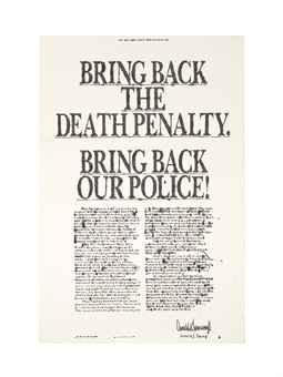 Nate Lowman-Bring Back the Death Penalty-2006