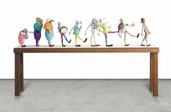 Nathalie Djurberg-Puppets from The Parade of Rituals and Stereotypes 1-2012