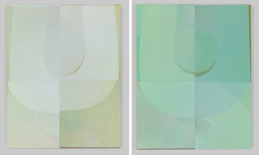 Nathlie Provosty - Consonance (Left) / Consonance II (Right)