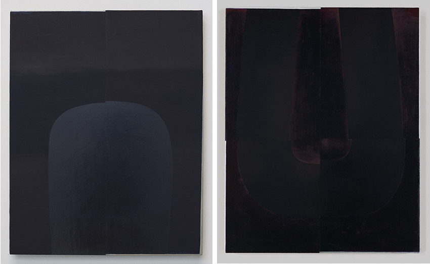 Nathlie Provosty - Near Ultraviolet, 2015 (Left) / Near Ultraviolet II, 2015 (Right)