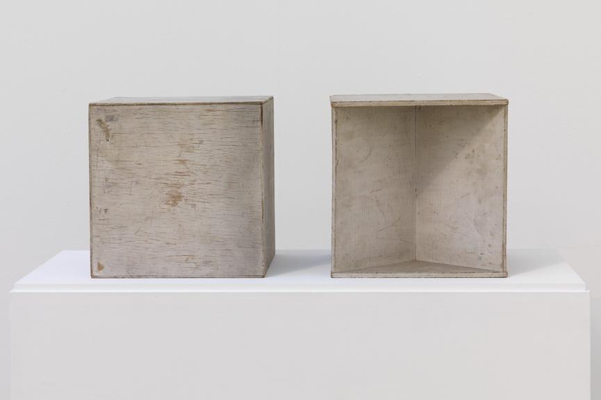 Naum Gabo - Two Cubes (Demonstrating The Stereometric Method)