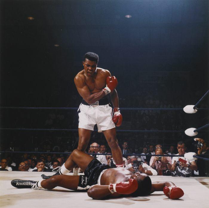 Neil Leifer-Muhammad Ali Vs. Sonny Liston St. Dominick's Arena Lewiston Maine-1965