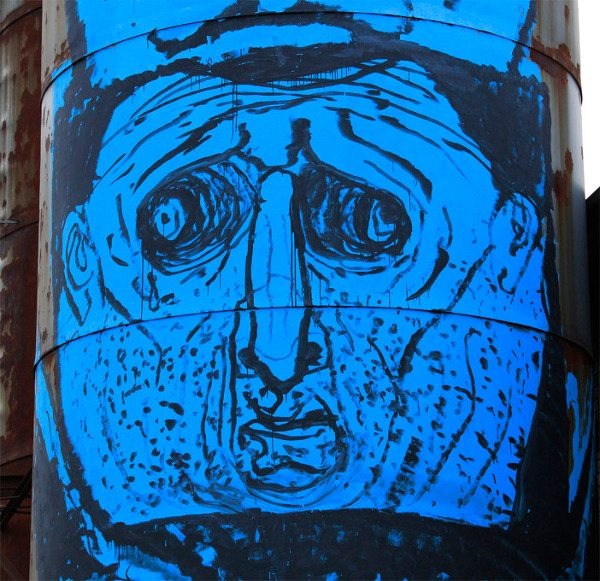 NemO's - Faces Totem Silos - Vedriano, 2014 - detail
